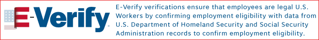 Everify verifications ensure that employees are legal U.S. workers